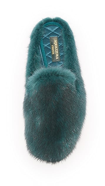 Aquazzura Purr Slippers