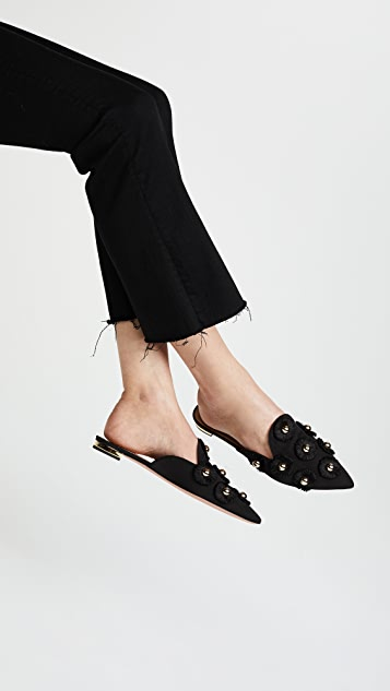 clearance brand new unisex Aquazzura Sunflower mules free shipping shop for bCad1