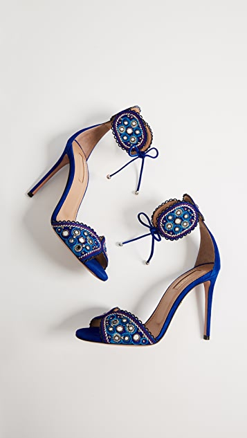 Aquazzura Jaipur 105 Sandals