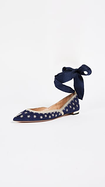 Aquazzura Bliss Ballet Flats