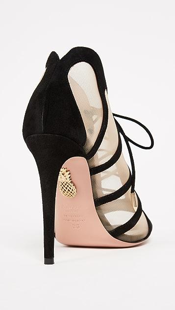 Aquazzura Elia 105 Sandals