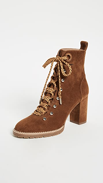 Aquazzura Hiker 90 Booties