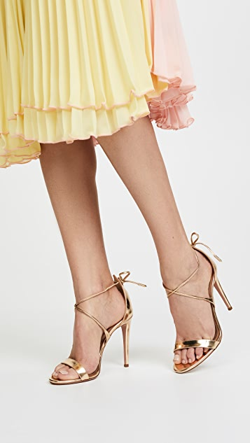 Aquazzura Linda 105 Sandals
