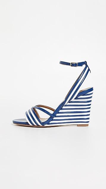 Aquazzura Sundance Wedge 85 Sandals