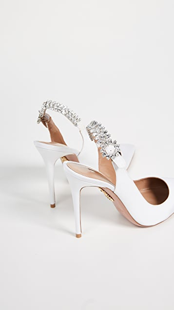 Aquazzura Portrait Of Lady 105 Slingback Pumps