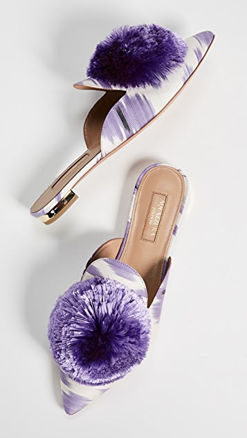 Aquazzura Powder Puff Flats