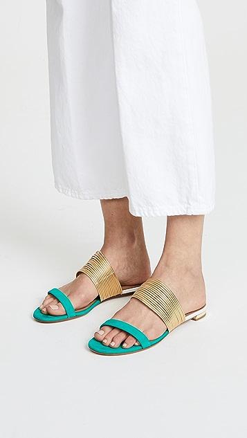 Aquazzura Rendez Vous Flat Sandals