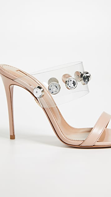 Aquazzura Galaxy 105mm Sandals