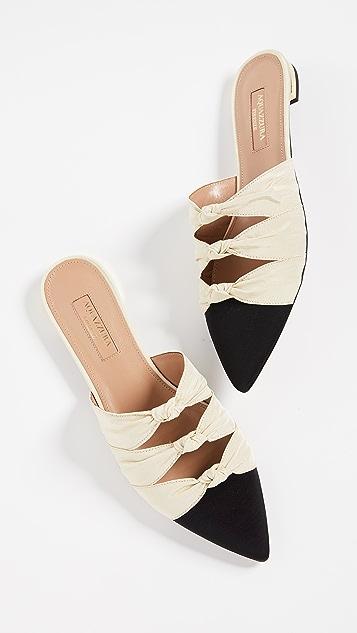 Aquazurra Mondaine 穆勒平底鞋