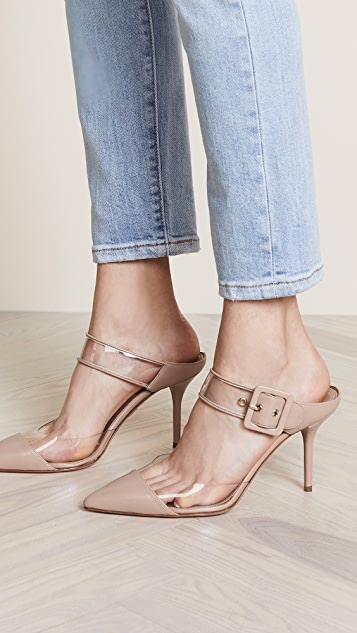 Aquazzura Optic 85mm Mules