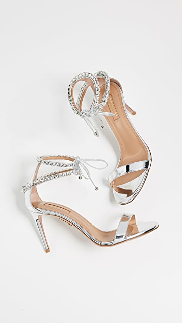 Aquazzura Crillon 85 Sandals