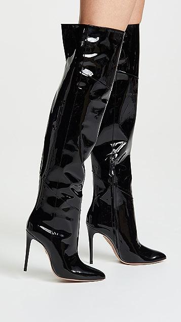 Aquazzura Alma Over the Knee Boots