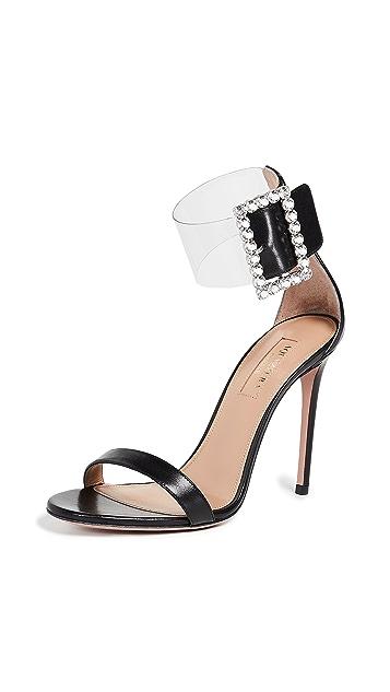 Aquazzura Casablanca Strass 105 Sandals