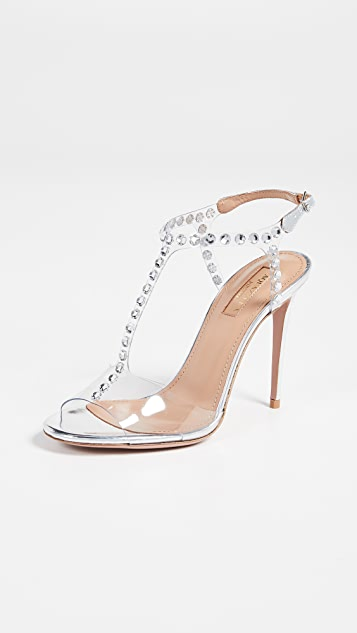 Aquazzura Shine 105mm Sandals