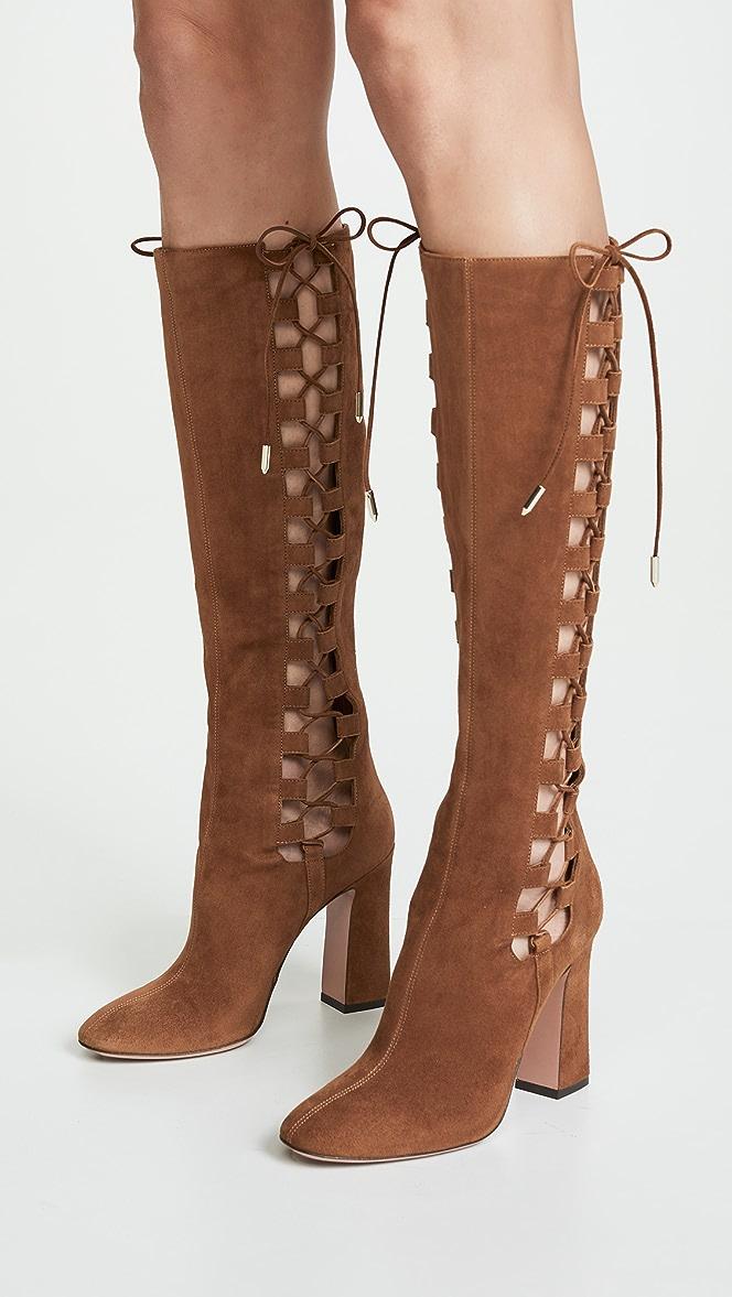 Aquazzura Medina 105 Boots | SHOPBOP