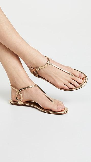 Aquazzura Almost Bare Flat Sandals