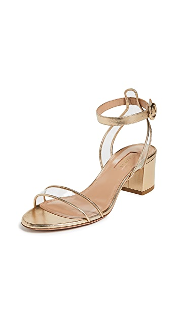 Aquazzura Minimalist 50 Sandals