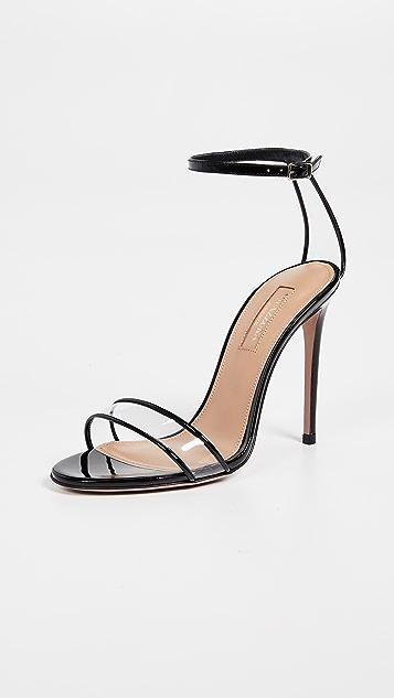 Aquazzura 105mm 简约凉鞋