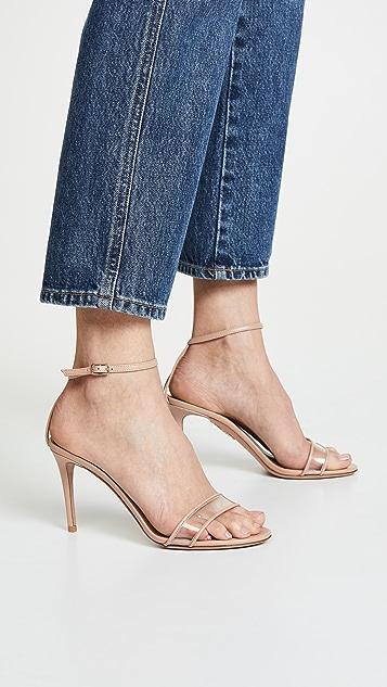 Aquazzura Минималистские сандалии 85