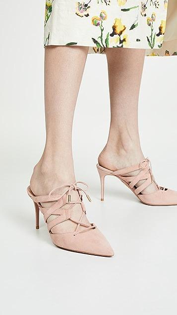 Aquazzura Туфли без задников Belgravia на каблуках высотой 85мм