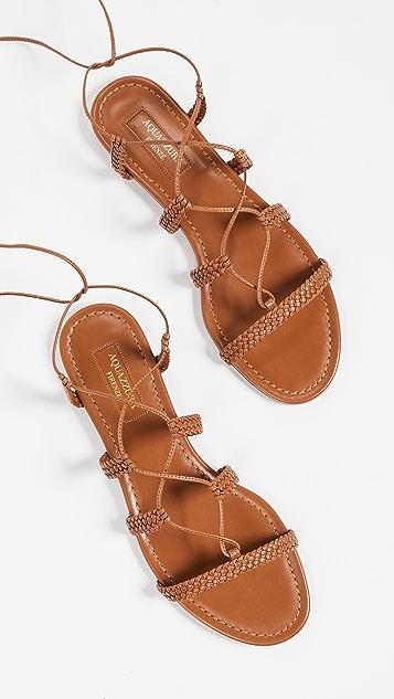 Aquazzura Stromboli Flat Sandals