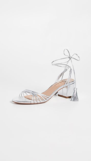 Aquazzura Mescal 50mm Sandals