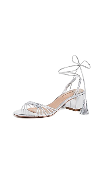 Aquazzura Mescal 50mm Sandals