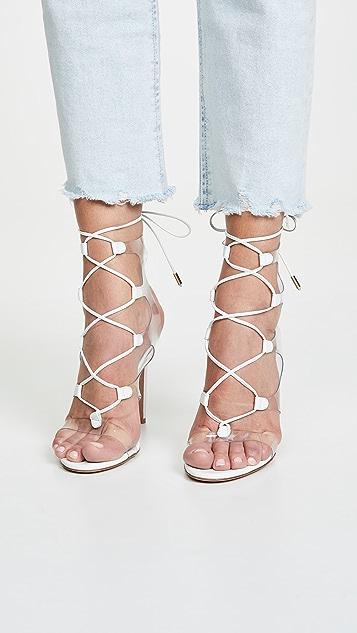 Aquazzura Milos 105mm Sandals