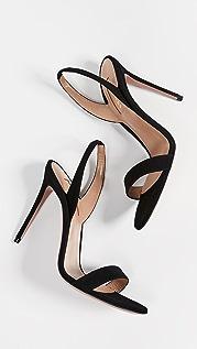 Aquazzura 105mm So Nude 凉鞋
