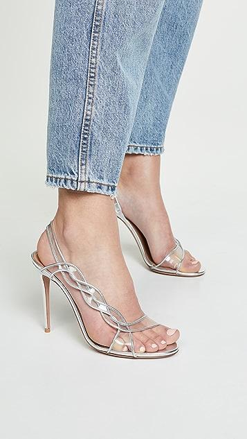 Aquazzura 105mm Swing Sandals