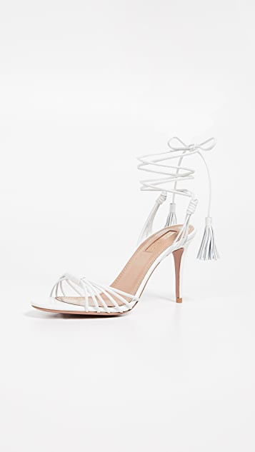 Aquazzura Mescal 85mm Sandals