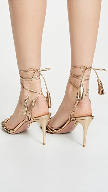 Aquazzura Mescal 85mm Sandals