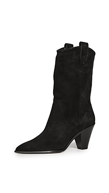 Aquazzura 70mm Boogie Cowboy Booties