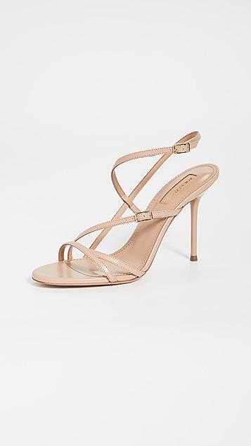 Aquazurra Carolyne 95mm 凉鞋