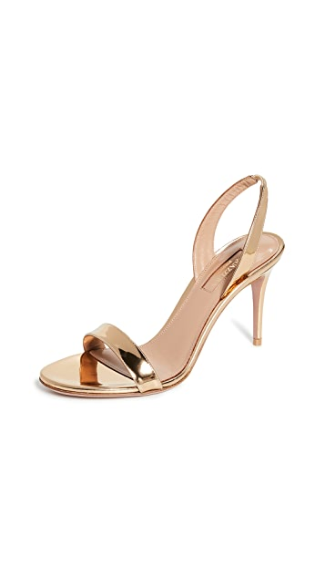 Aquazzura So Nude 85mm Sandals