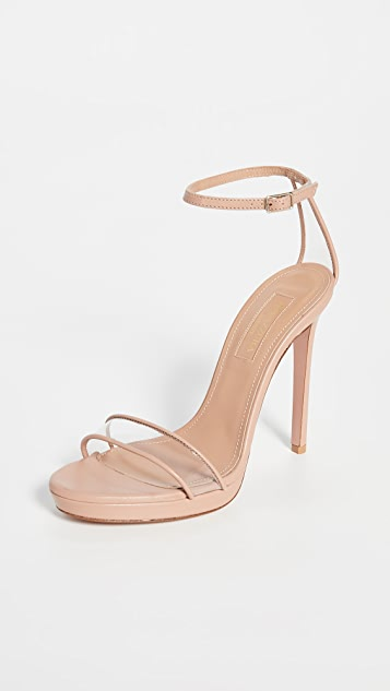 Minimalist 115mm Sandals by Aquazzura
