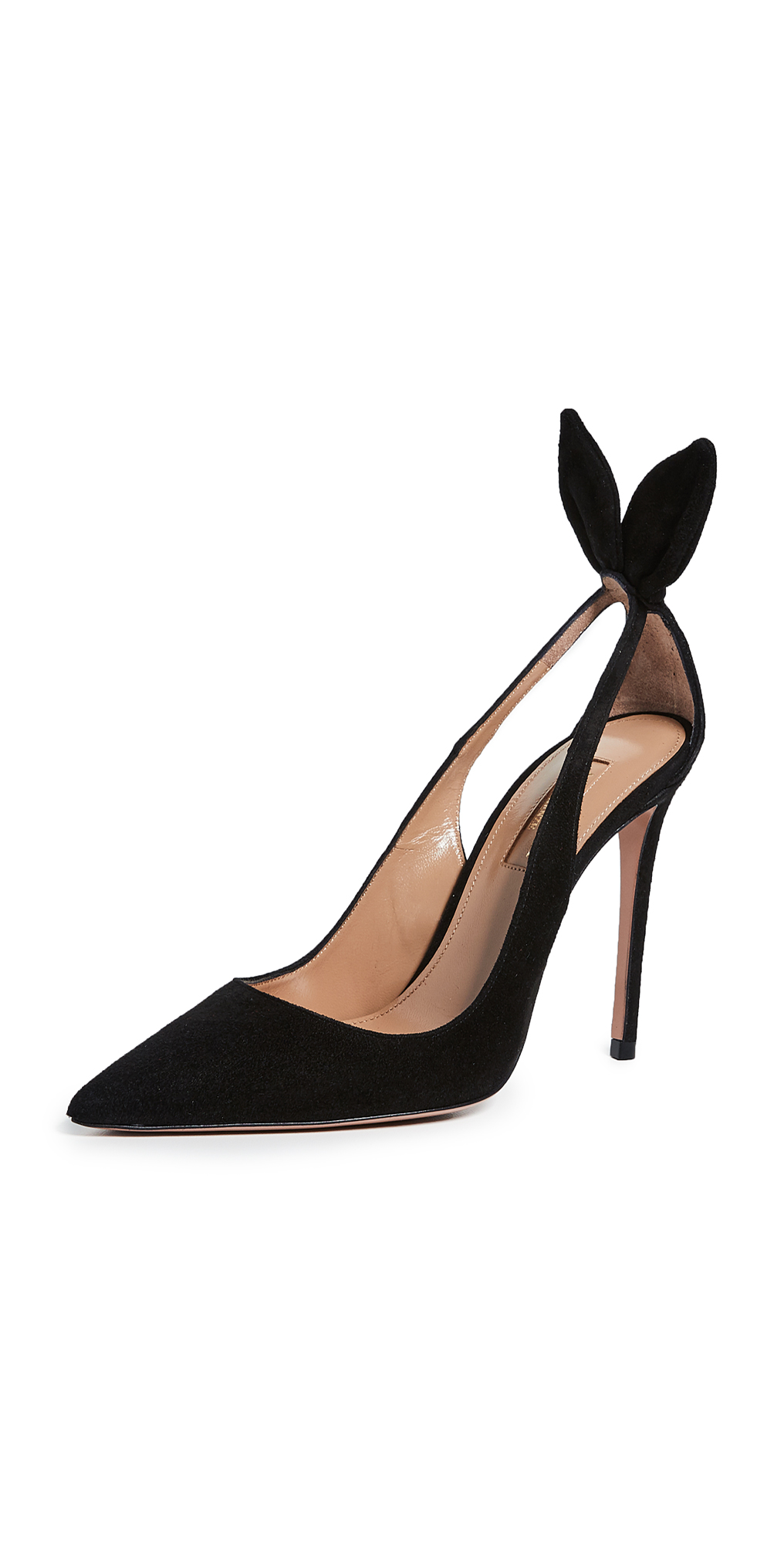 Aquazzura Bow Tie Pumps 105mm