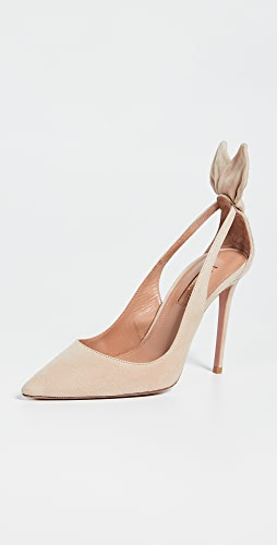 Aquazzura - Bow Tie Pumps 105mm