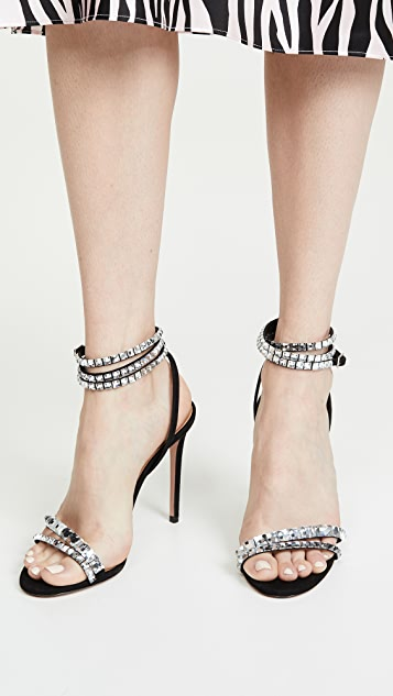 Aquazzura So Vera Sandals 105
