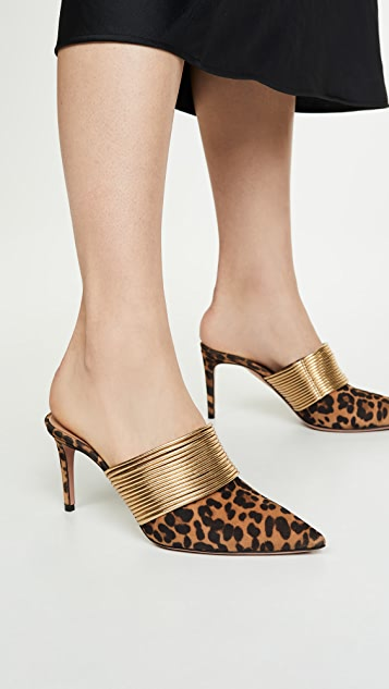 Aquazzura Туфли без задников Rendez Vous на каблуках высотой 75мм