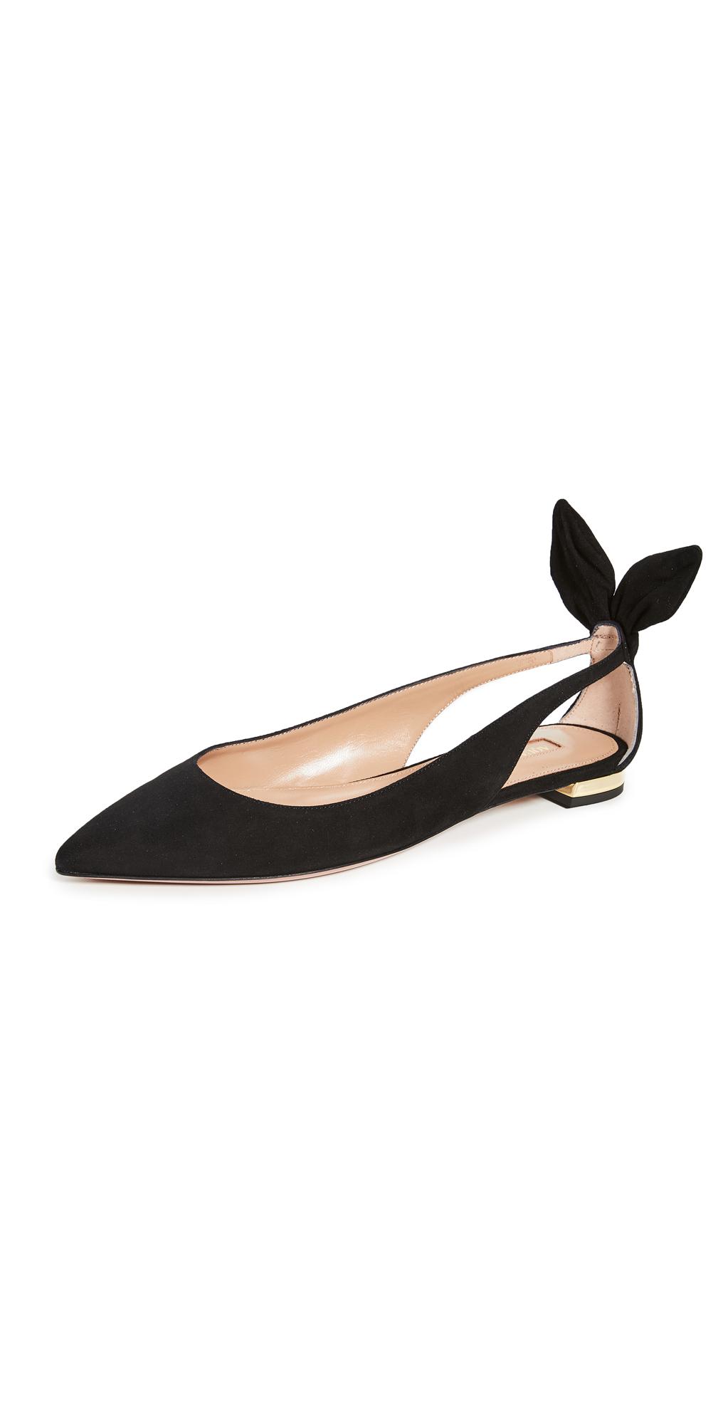 Aquazzura Bow Tie Ballet Flats