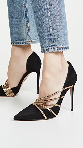Aquazzura 105mm Minou 高跟鞋