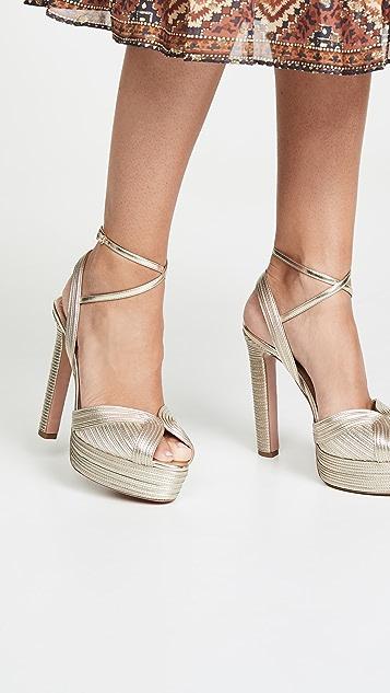 AQUAZZURA High heels Caprice Plateau 130mm Sandals