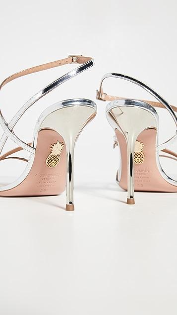 Aquazurra Carolyne 95 凉鞋