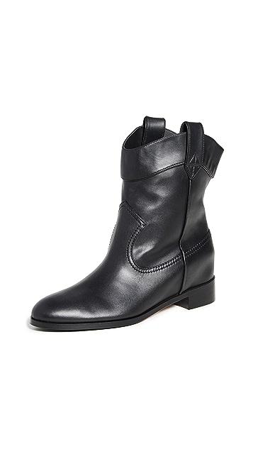 Aquazzura Jordan Flat Booties