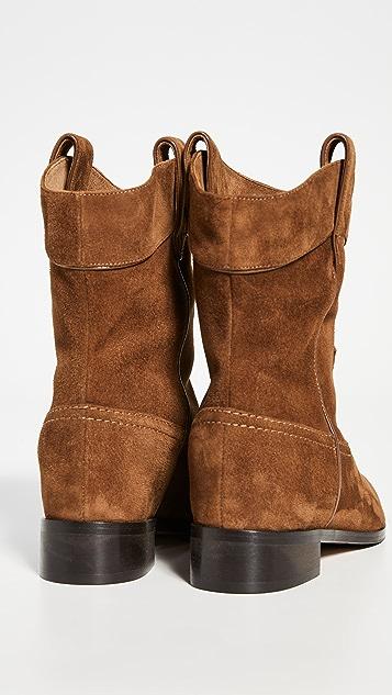 Aquazurra Jordan 扁平短靴