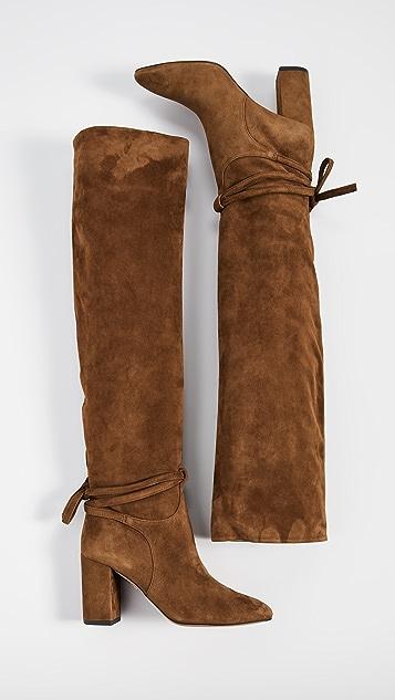 Aquazzura 85mm Milano Boots