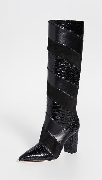 Aquazzura Сапоги Boetti на каблуках высотой 85мм