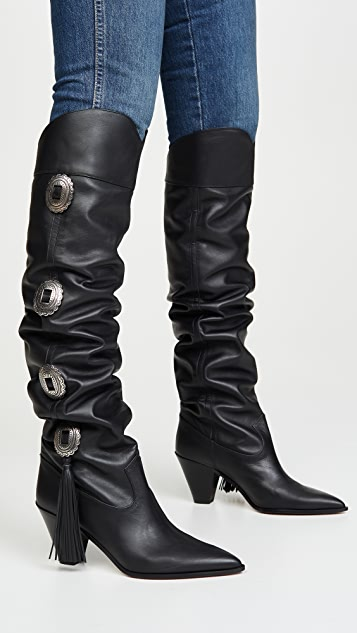 Aquazzura 70mm Go West Boots