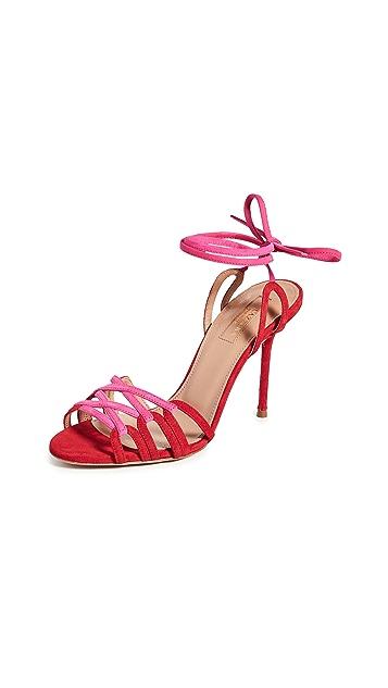 Aquazurra Azur 凉鞋 95mm